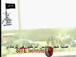 site-institute---9-21-05---the-mujahideen-army-issues-a-video-of-the-sniping-of-two-american-soldiers-in-al-anbar