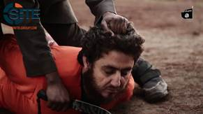 IS Video Shows Child Beheading Religious Jurist from Levantine Front