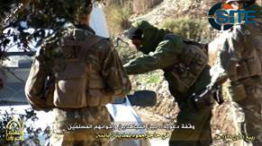 AQIM Publishes Photo Report on Distributing Propaganda to Civilians at Fake Checkpoint in Batna2