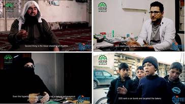 Ahrar al Sham Video Asks Aleppo Citizens to Share Thoughts on IS