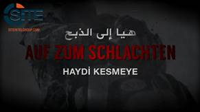 IS Affiliate Releases Video Version of German Chant Inciting Lone Wolf Attacks in America Europe Russia