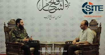 Jabhat Fateh al Sham Leader Discusses Ceasefire Deal in al Jazeera Interview