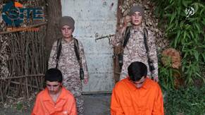 Four Children Including a Russian and an Uzbek Execute Spies in IS Video1