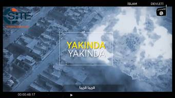 IS Media Affiliate Releases Turkish Video Chant Threatening Attacks in Homelands of Disbelievers