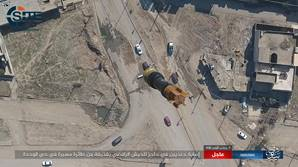 IS Photo Reports Show Further UAV Attacks in Mosul thumb