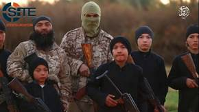 IS Video Highlights Uyghur Fighters and Children1