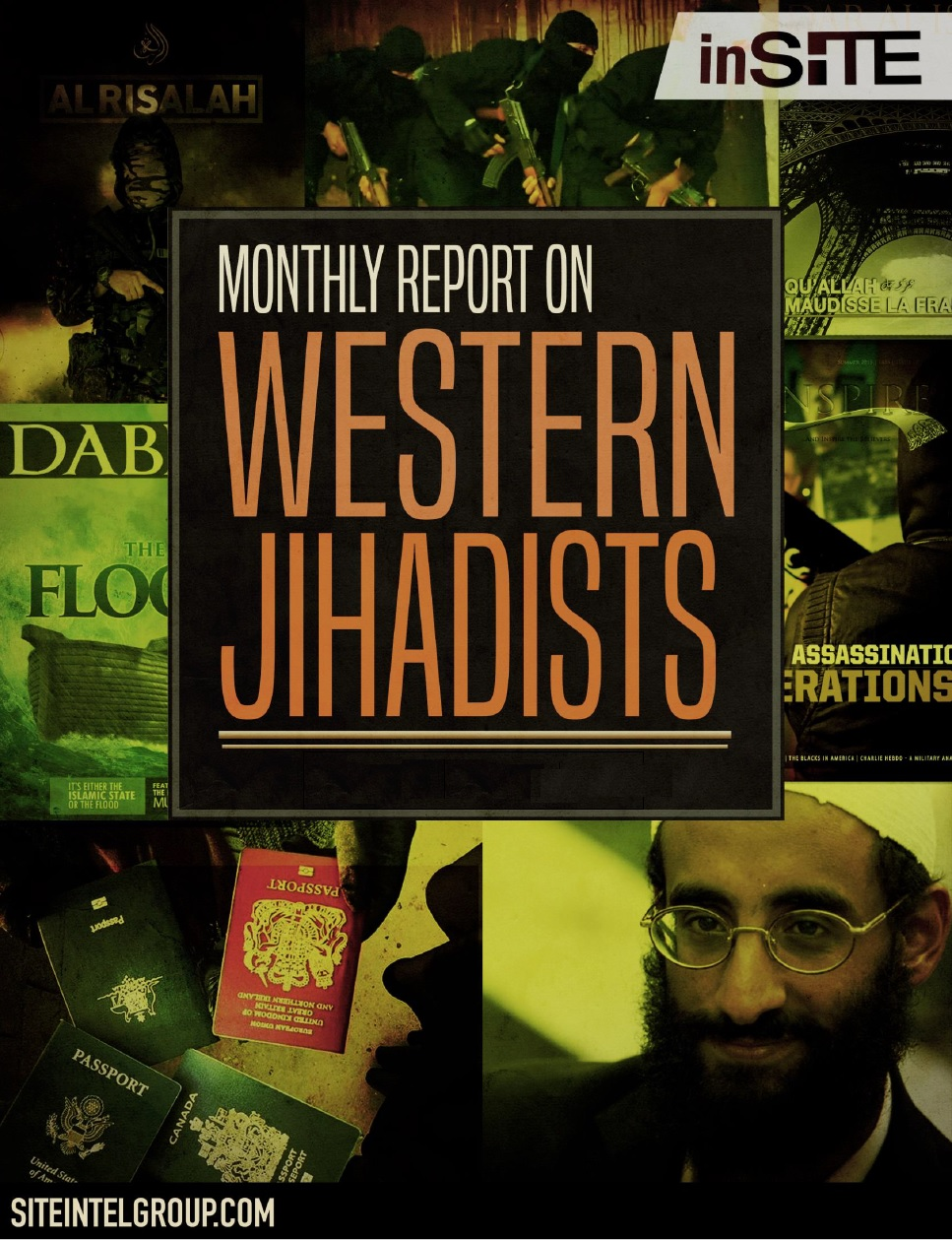 inSITE on Western Jihadists January - March, 2017