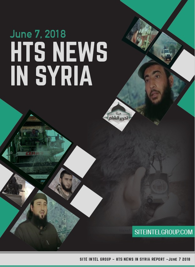 HTS News in Syria for June 7, 2018