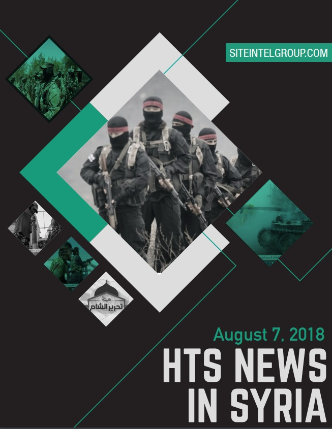 HTS News in Syria for August 7, 2018