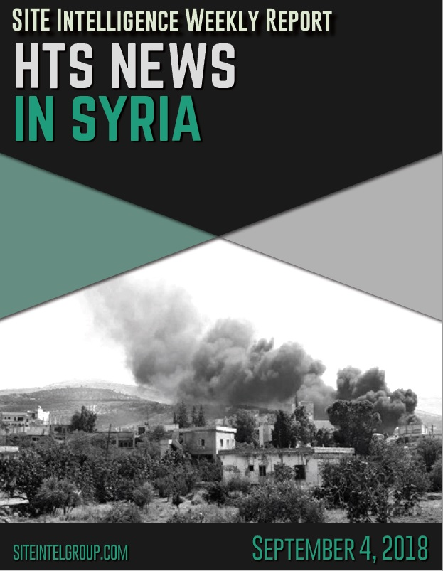HTS News in Syria for September 4, 2018