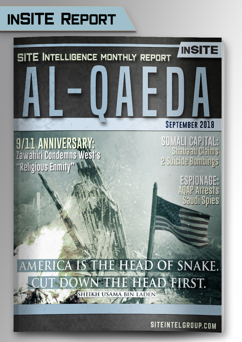 Monthly inSITE Report on Al-Qaeda for September 2018