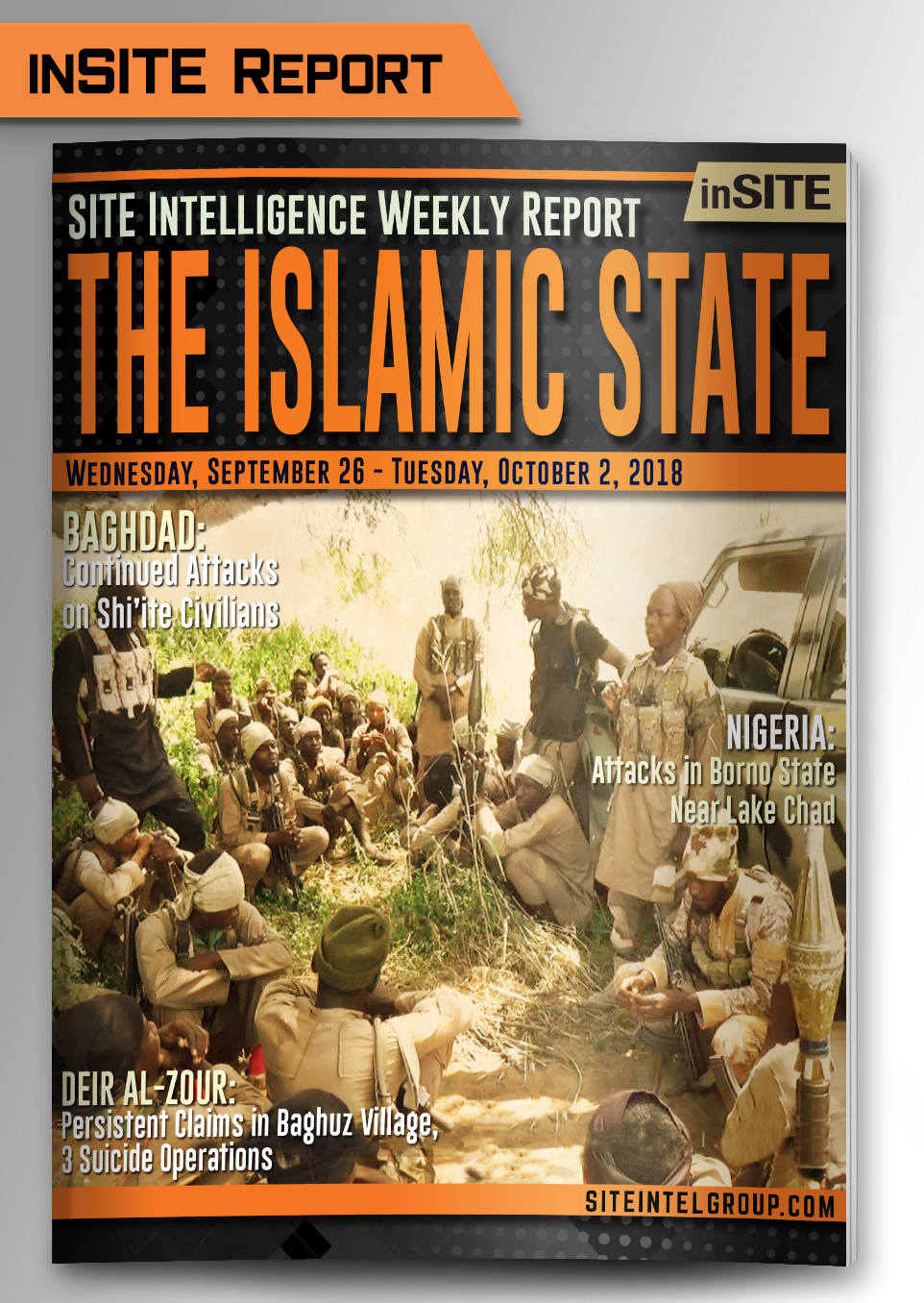 Weekly inSITE on the Islamic State for September 26-October 2, 2018