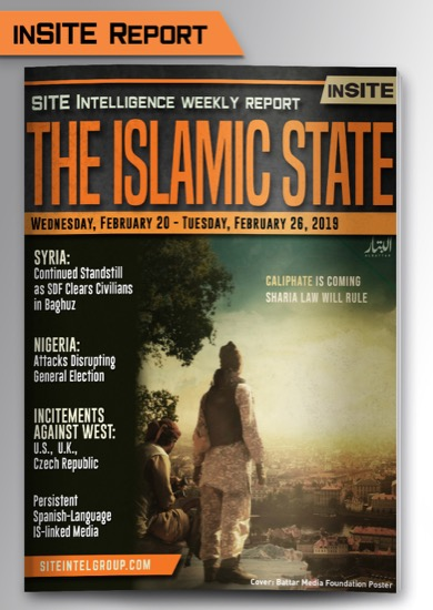 Weekly inSITE on the Islamic State for February 20-26, 2019