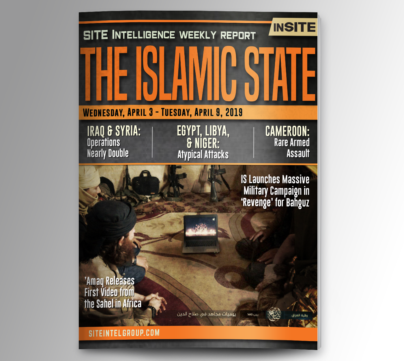 Weekly inSITE on the Islamic State for April 3-9, 2019
