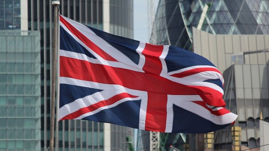 Union Jack in London 2016