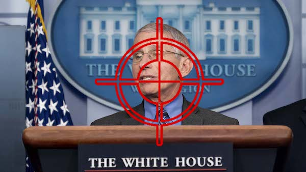Fauci White House crosshairs dispatch