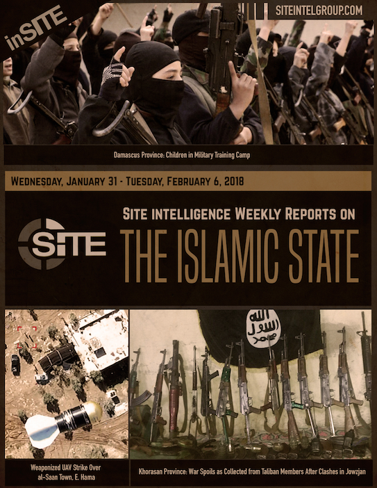 Weekly inSITE on the Islamic State, Jan 31 - Feb 6, 2018