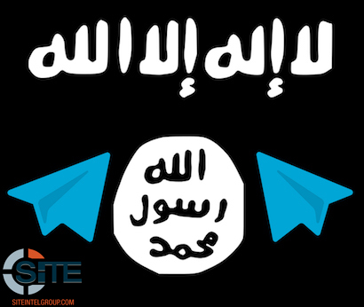 isis flag telegram wmre