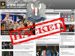 US Army Official Website Hacked