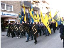 SITE Monitoring WST - 05-04-2012- WS Support Swedish Neo-Nazi March