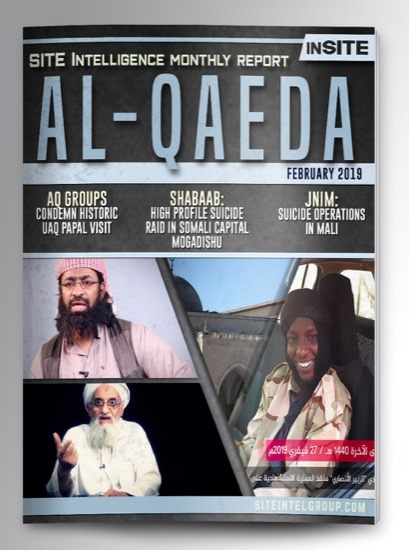 Monthly inSITE Report on Al-Qaeda for February 2019
