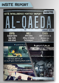 Monthly inSITE Report on Al-Qaeda for January 2019