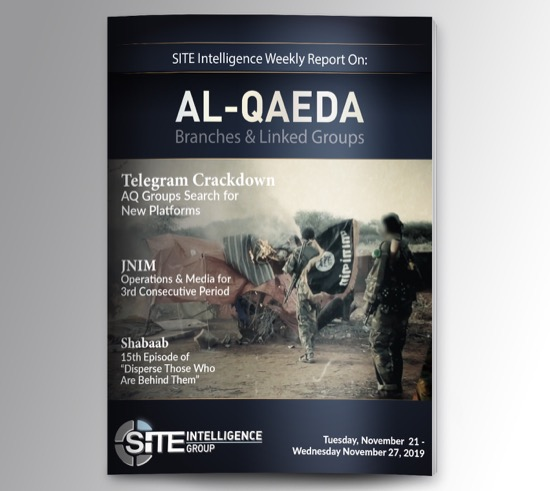 Weekly inSITE on al-Qaeda for November 21-27, 2019