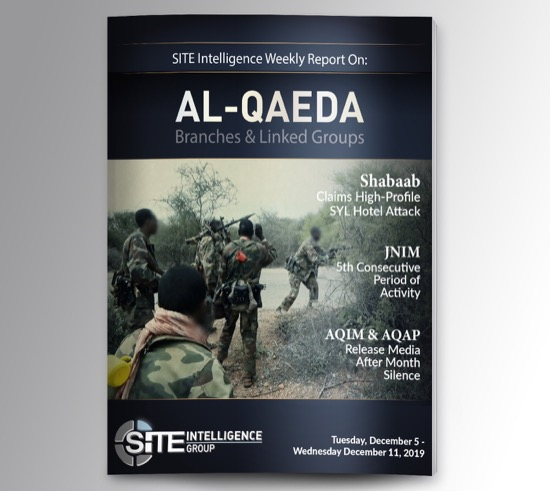 Weekly inSITE on al-Qaeda for December 5-11, 2019