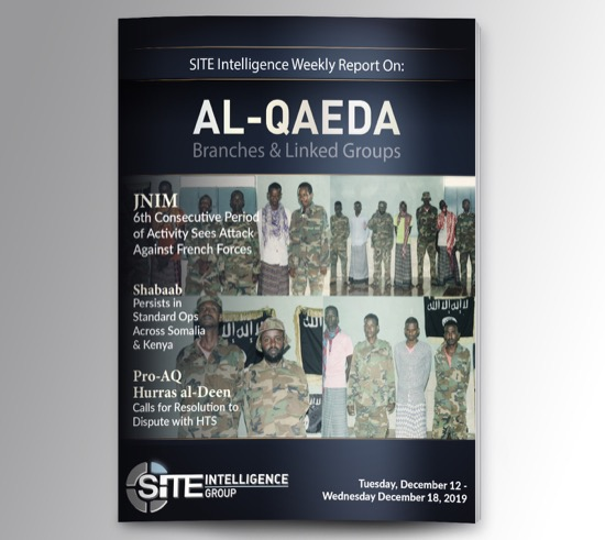 Weekly inSITE on al-Qaeda for December 12-18, 2019