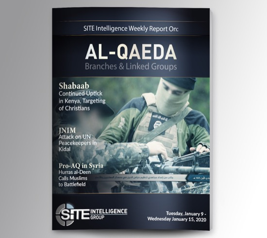 Weekly inSITE on al-Qaeda for January 9-15, 2020
