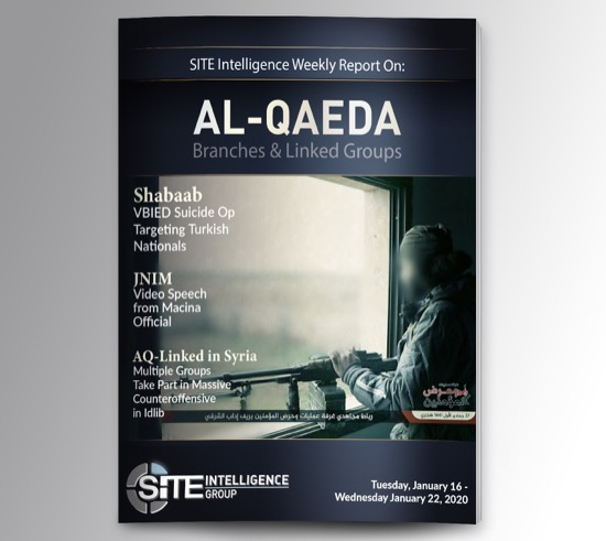 Weekly inSITE on al-Qaeda for January 16-22, 2020