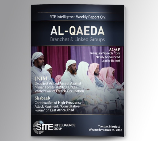 Weekly inSITE on al-Qaeda for March 19-25, 2020