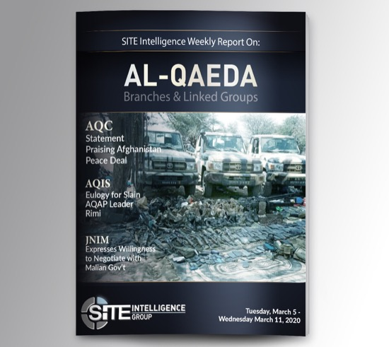 Weekly inSITE on al-Qaeda for March 5-11, 2020
