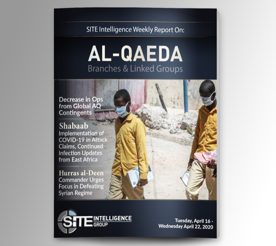 Weekly inSITE on al-Qaeda for April 16-22, 2020