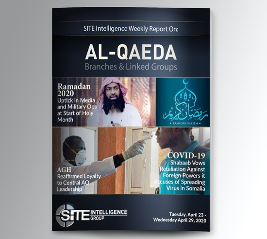 Weekly inSITE on al-Qaeda for April 23-29, 2020