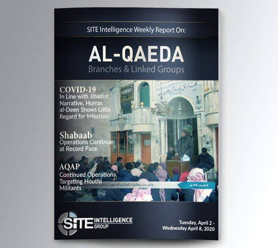 Weekly inSITE on al-Qaeda for April 2-8, 2020