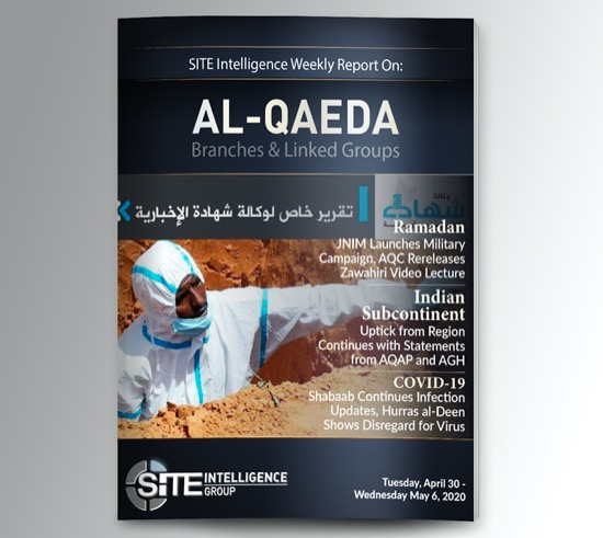 Weekly inSITE on al-Qaeda for April 30-May 6, 2020