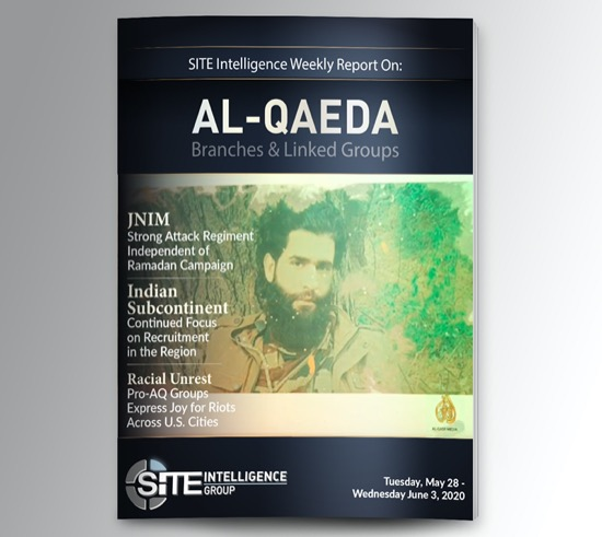 Weekly inSITE on al-Qaeda for May 28-June 3, 2020