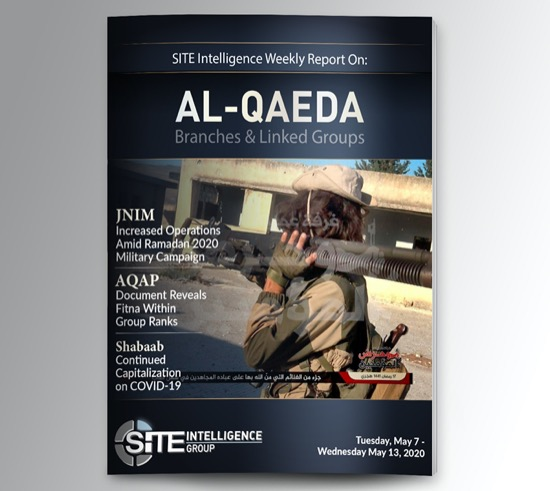Weekly inSITE on al-Qaeda for May 7-13, 2020