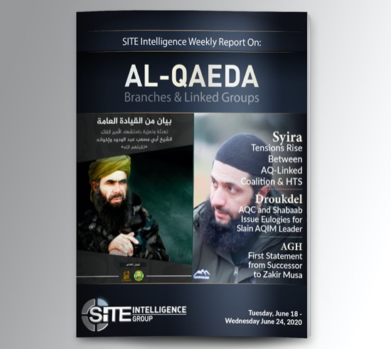 Weekly inSITE on al-Qaeda for June 18-24, 2020