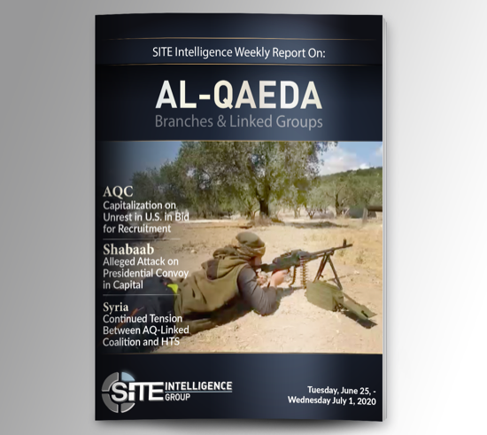 Weekly inSITE on al-Qaeda for June 25-July 1, 2020