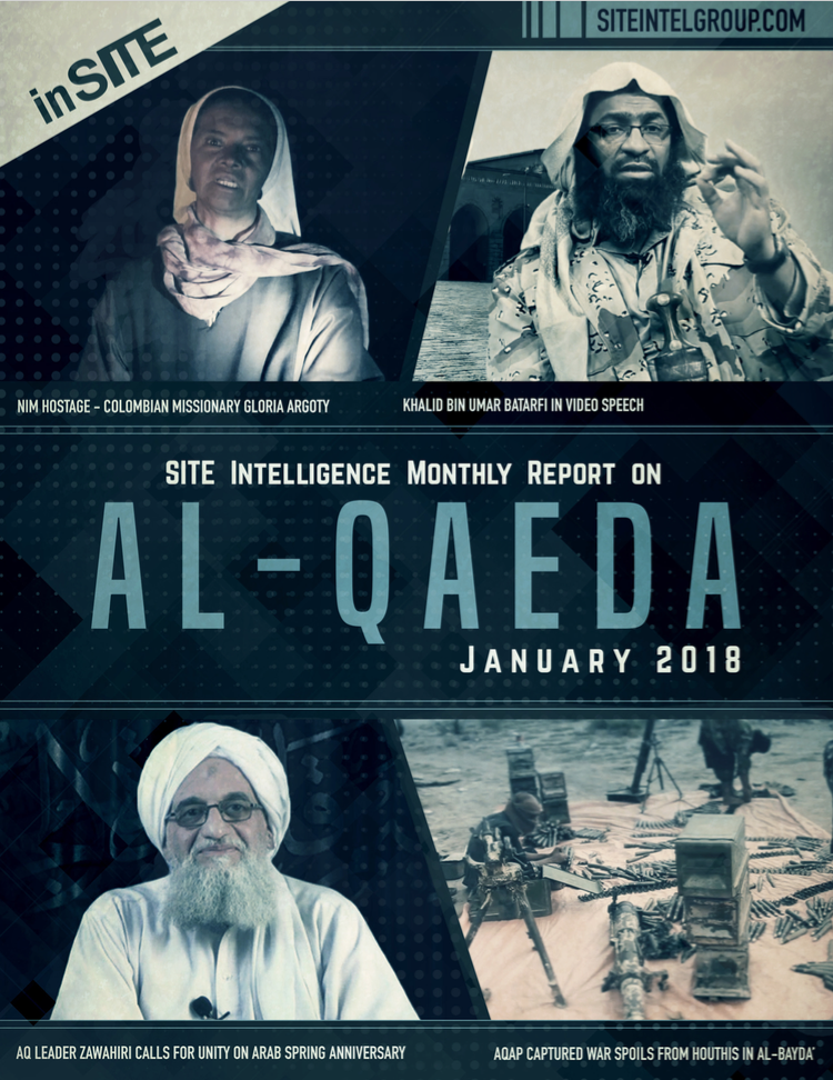 inSITE Report on Al-Qaeda, January 2018