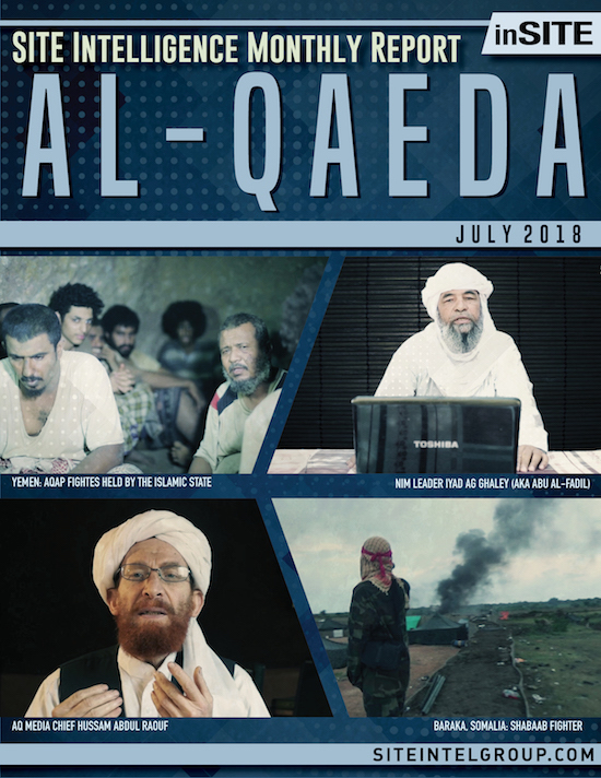 inSITE Report on Al-Qaeda, July 2018