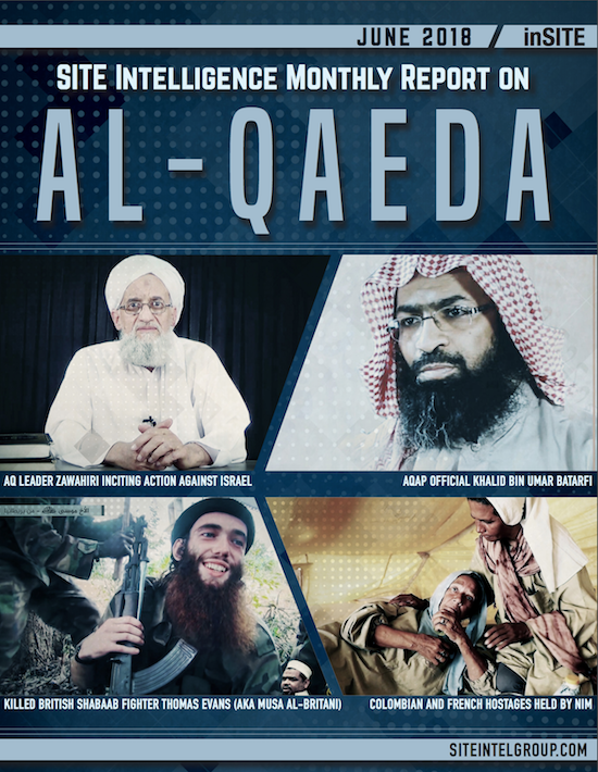 inSITE Report on Al-Qaeda, June 2018