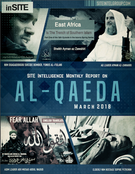 inSITE Report on Al-Qaeda, March 2018