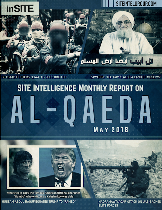 inSITE Report on Al-Qaeda, May 2018