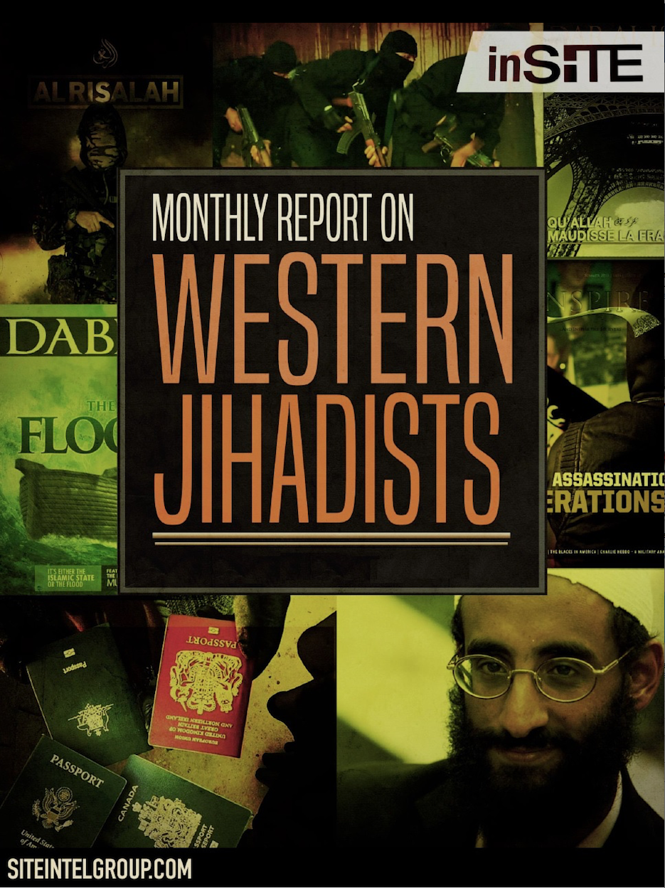 InSITE on Western Jihadists Oct 11 - Dec 29, 2016