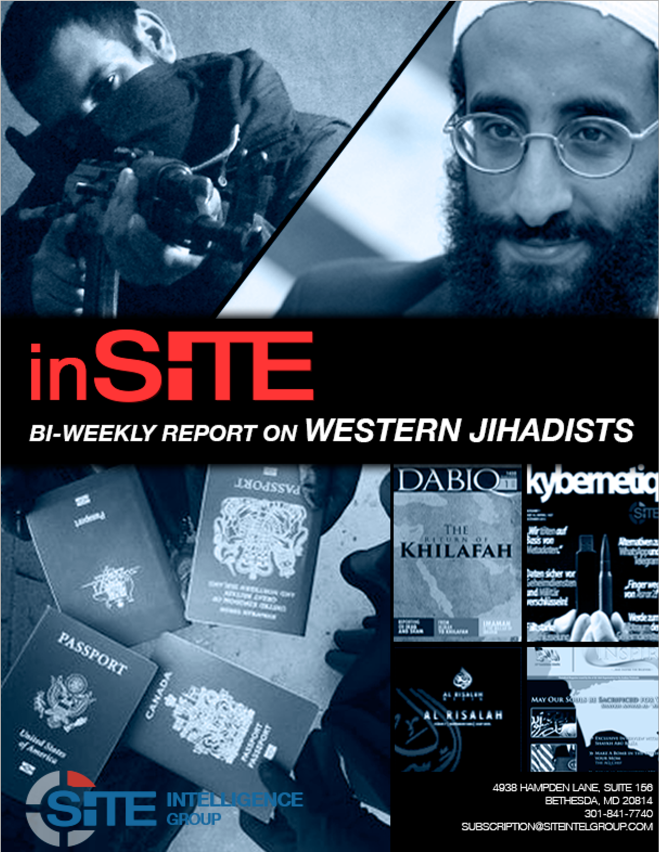 inSITE on Western Jihadists, May 20 - July 11