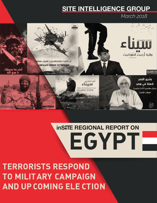 inSITE Regional Report on Egypt: Terrorists Respond to Military Campaign and Upcoming Election