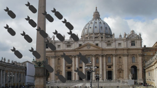 vatican bombs dispatch